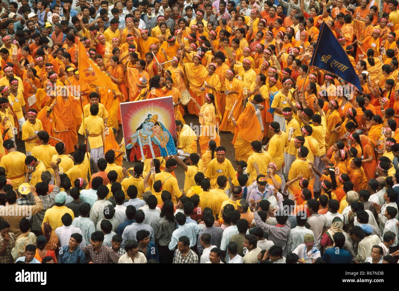 rath yatra, puri, orissa, india Stock Photo
