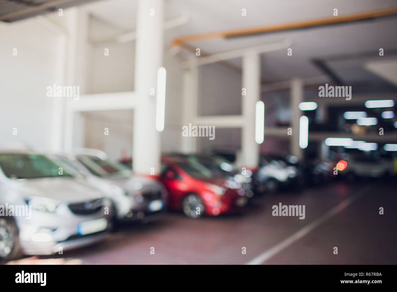 Shopping Mall Car Park High Resolution Stock Photography And Images Alamy