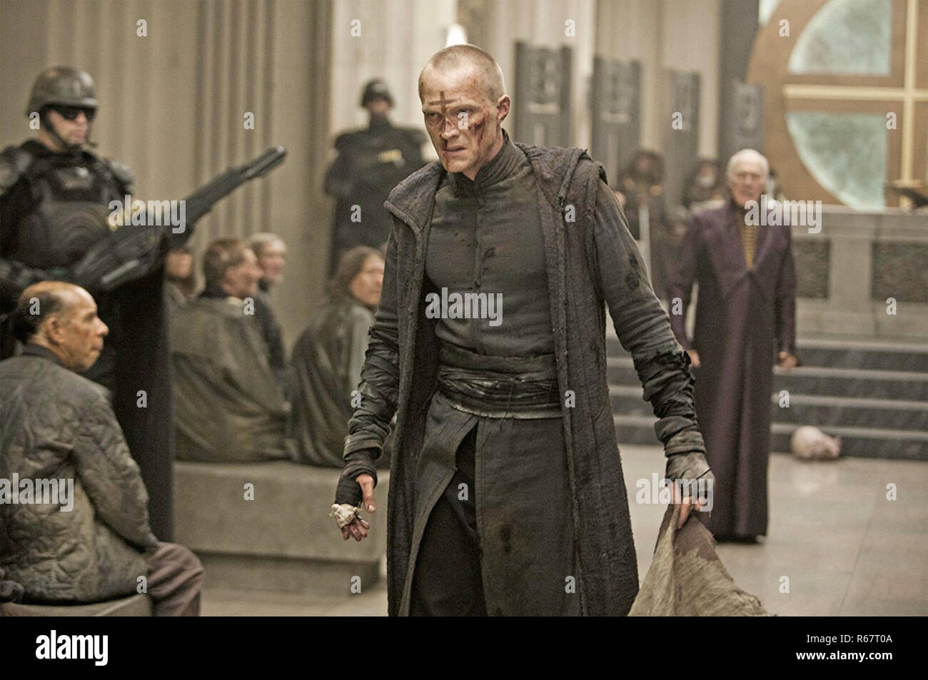 PRIEST 2011 Screen Gems film with Paul Bettany - Stock Image