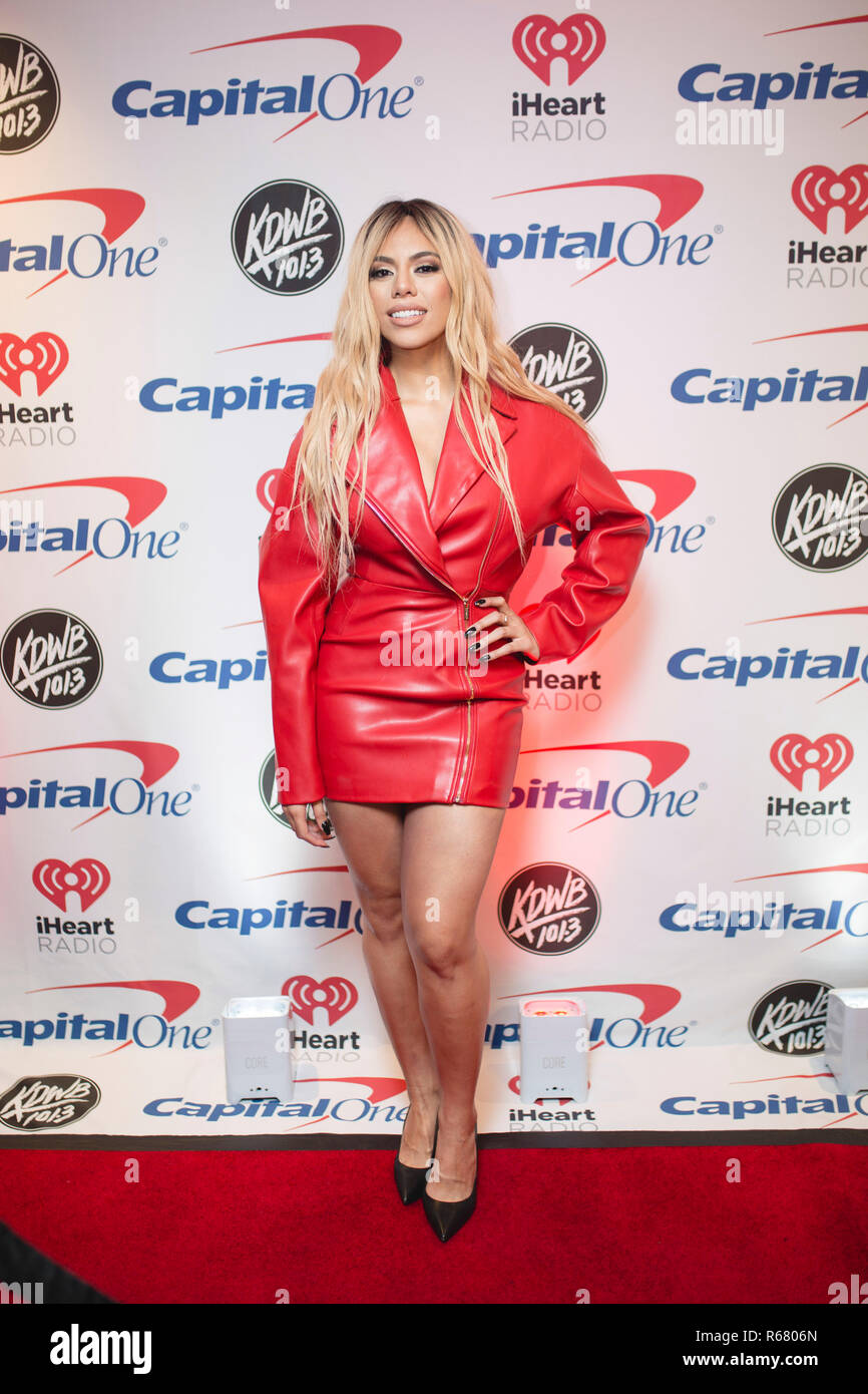 Saint Paul, USA. 03rd Dec, 2018. Dinah Jane backstage on the red carpet at the Xcel Energy Center in Saint Paul, Minnesota. Credit: The Photo Access/Alamy Live News - Stock Image