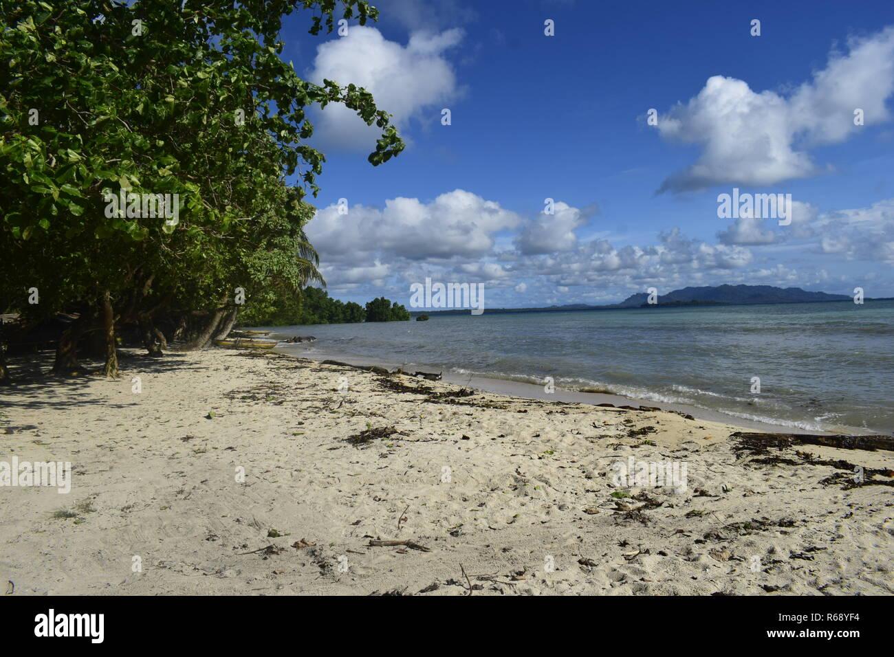 Kesa Beach - Stock Image