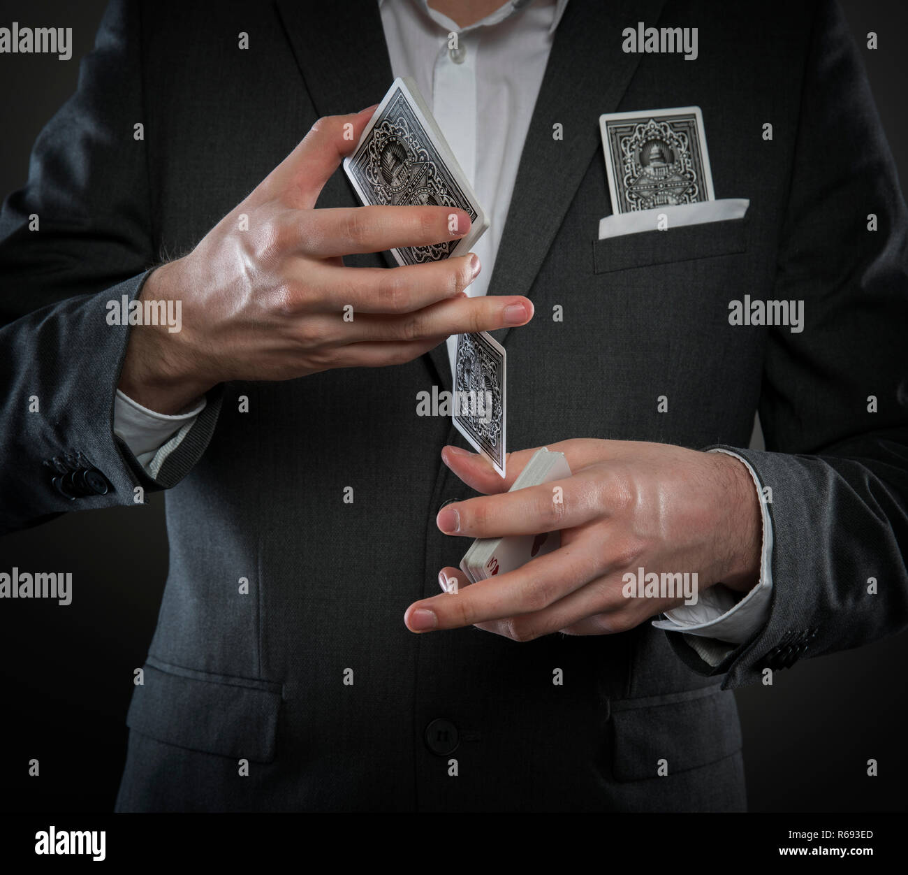 The Gambler - Stock Image
