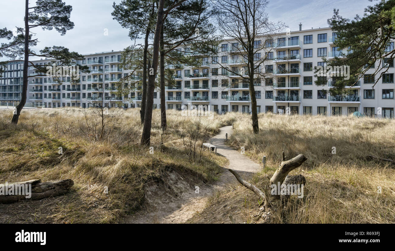 Resort New Prora In Rügen - Stock Image