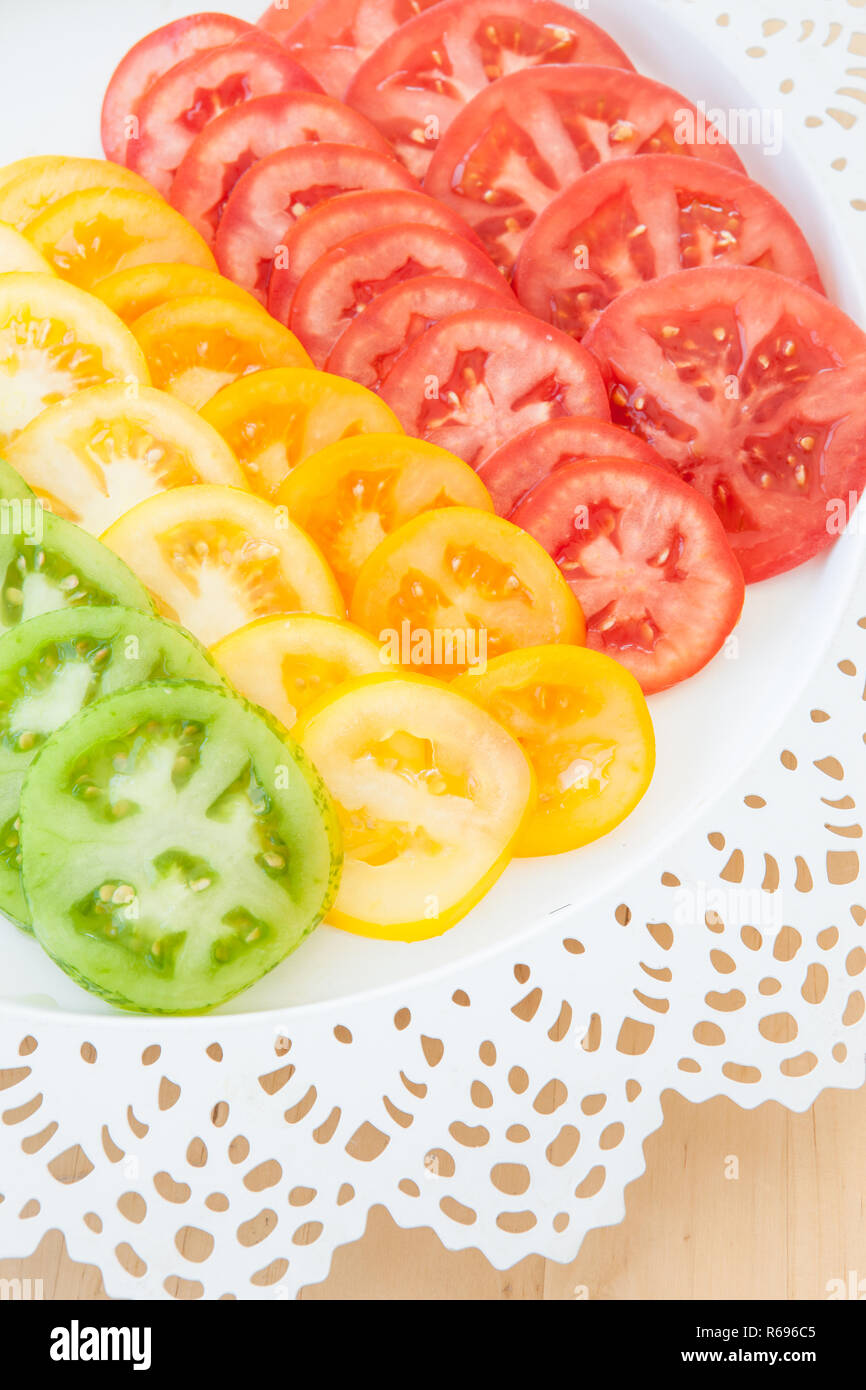 Tomato Salad - Stock Image