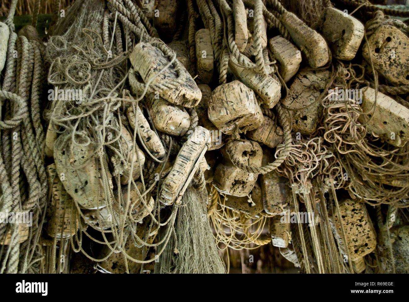 Fishing Nets - Stock Image