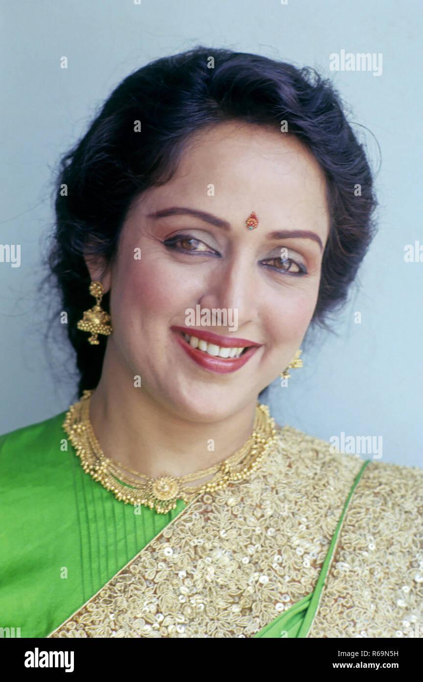 South Asian Indian Bollywood Actress Hema Malini India No Mr Stock Photo Alamy