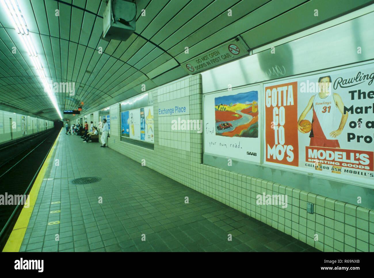 Underground Station - Stock Image