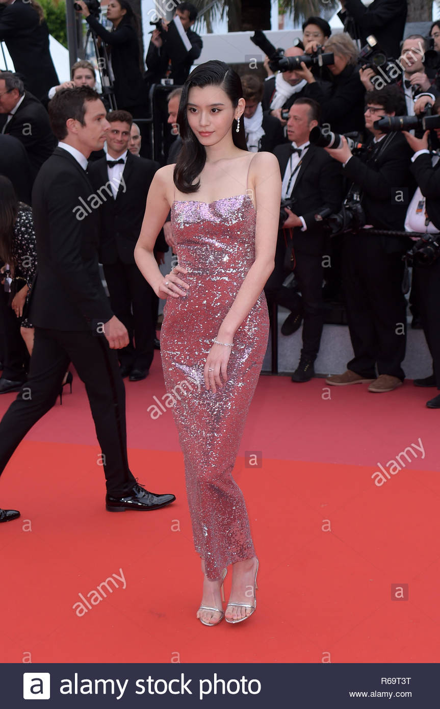 Ming Xi cannes 20-05-2018 - Stock Image
