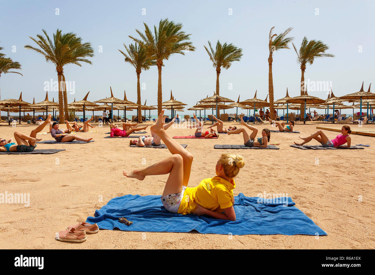 The Red Sea coastal resort Sharm el-Sheikh, south Sinai, Egypt, April 6, 2018. (CTK Photo/Michal Okla) - Stock Image