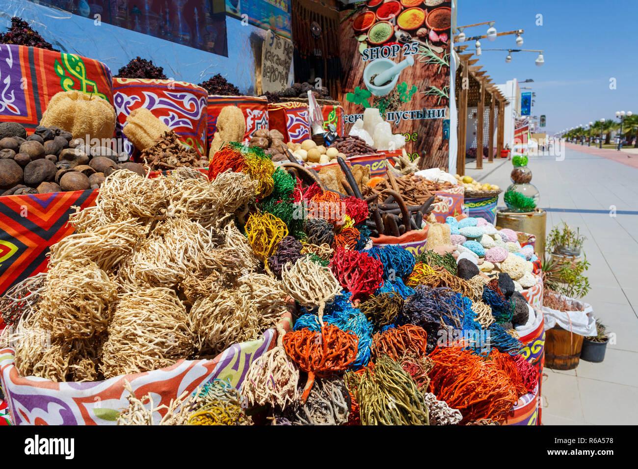 The Old Town in Red Sea coastal resort Sharm el-Sheikh, south Sinai, Egypt, April 11, 2018. (CTK Photo/Michal Okla) - Stock Image
