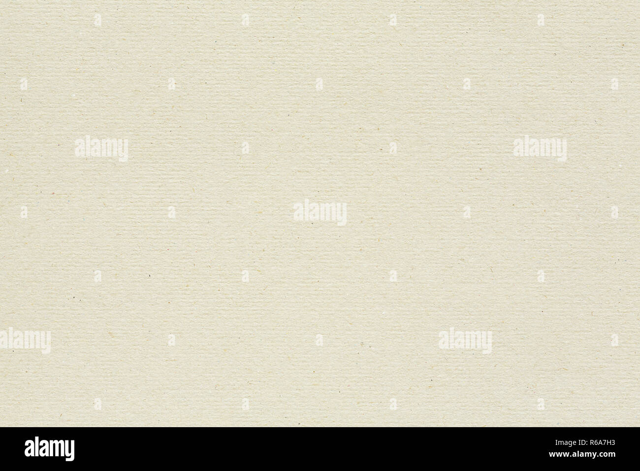Recycled cardboard background with subtle ribbed pattern and fibre texture - Stock Image