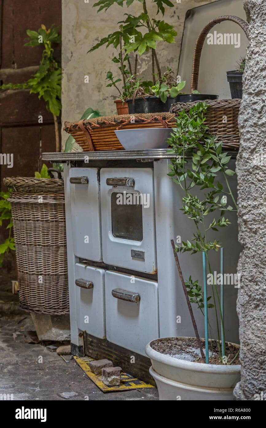 Impressionen Aus Badalucco Stock Photo