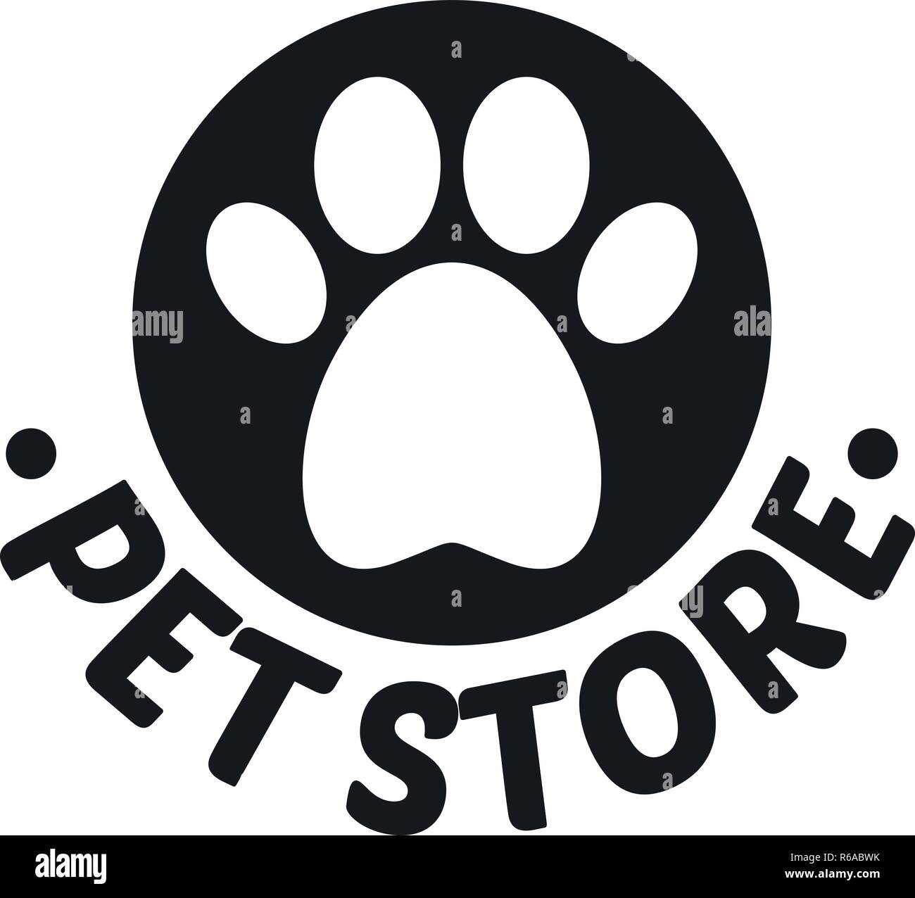 Pet Toys Store Logo Simple Illustration Of Pet Toys Store Vector