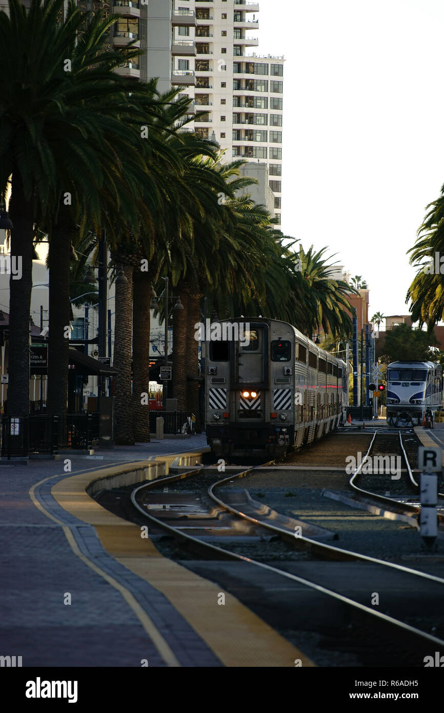Station San Diego - Stock Image