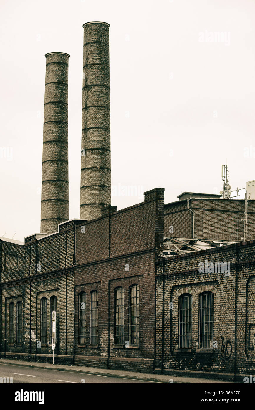 Industrial Chimney - Stock Image