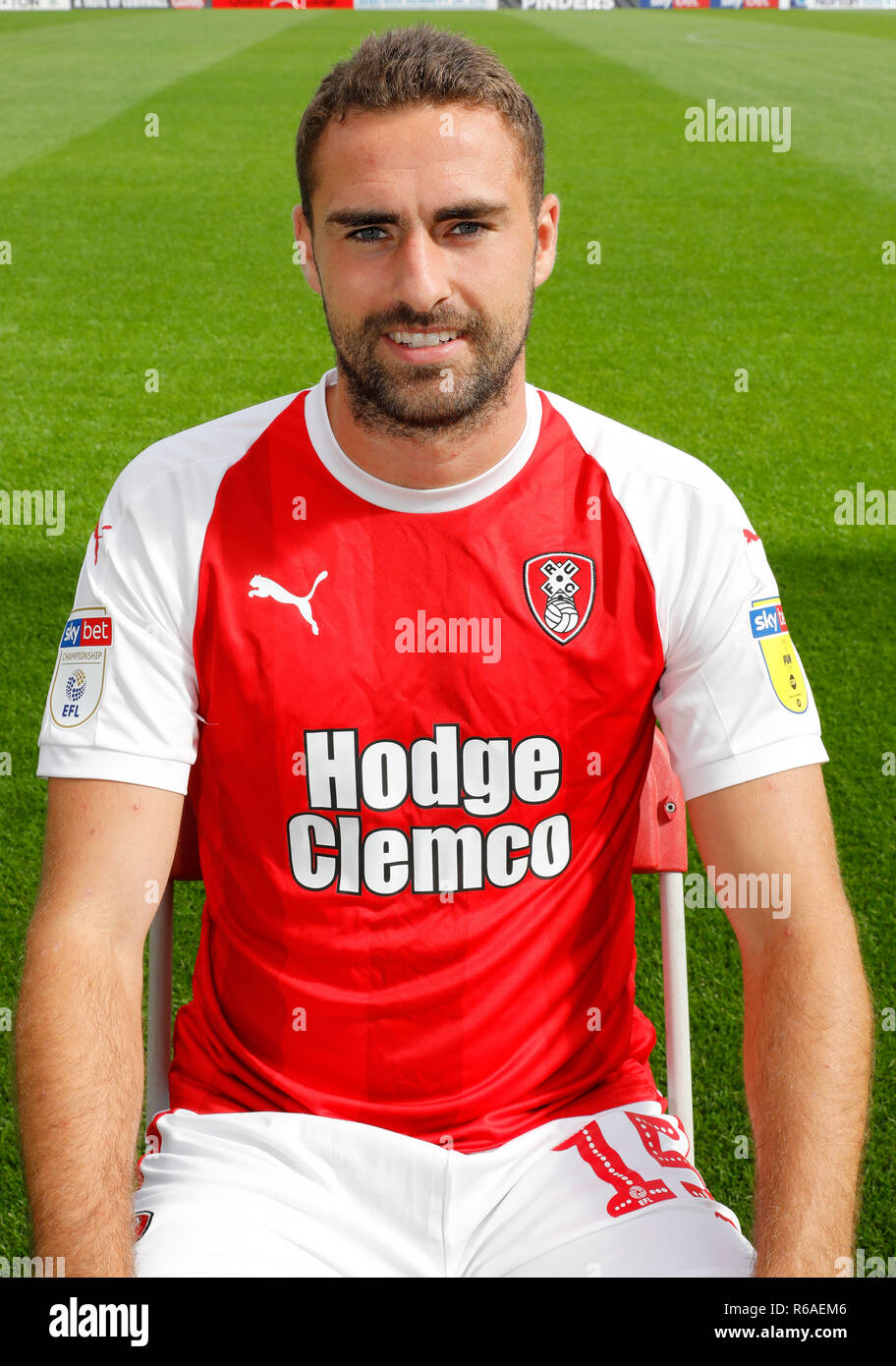 Clark Robertson, Rotherham United Football Club, Photocall, season ...