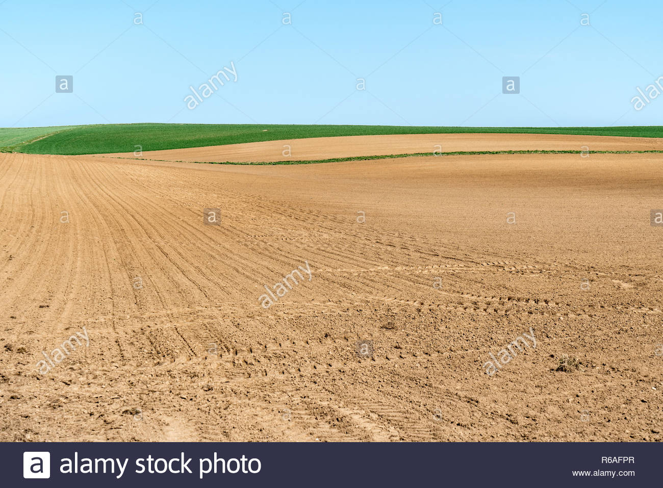Fields In Intensive Agriculture Stock Photo: 227654639 - Alamy