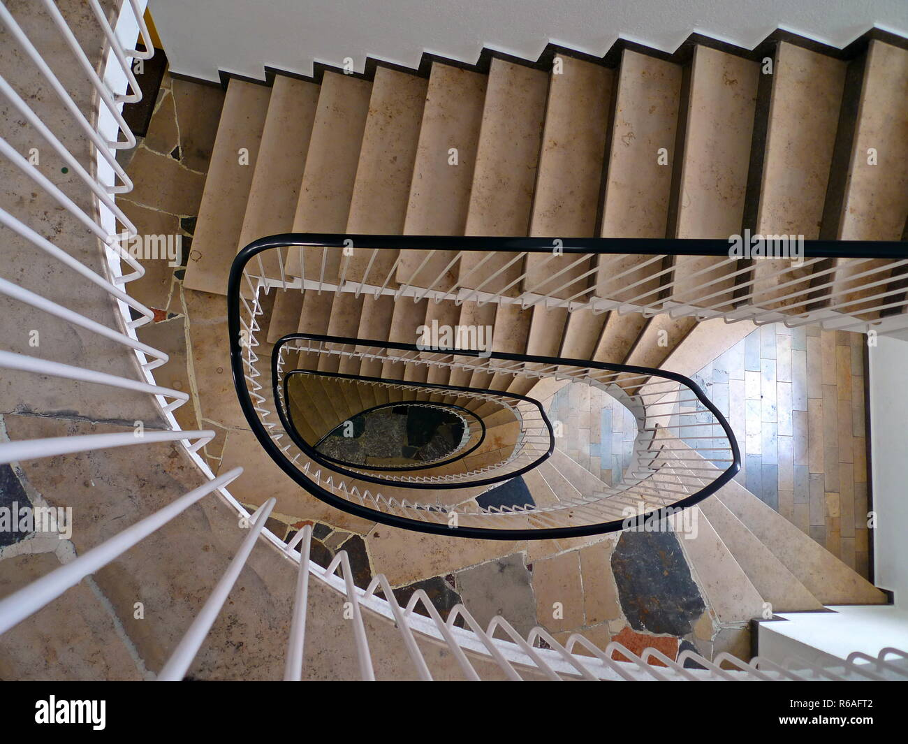 The Staircase View From Above Stock Photo 227654674 Alamy