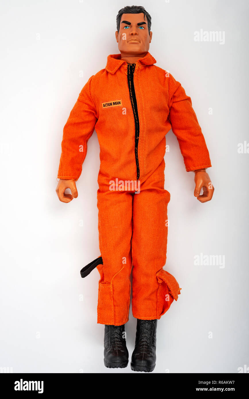 Action Man - Stock Image