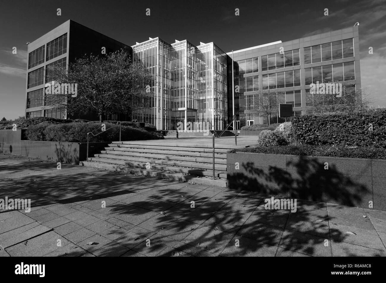 Witan Gate House building, Central Milton Keynes, Buckinghamshire, England; UK - Stock Image