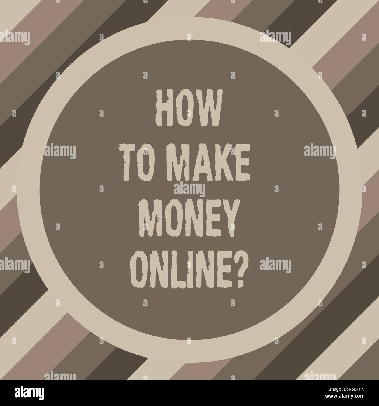 Writing note showing How To Make Money Onlinequestion  Business