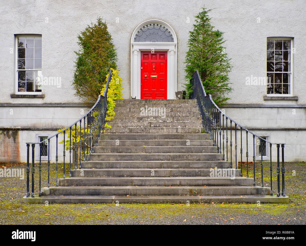 Ireland County Roscommon Castlecoote House 18th Century Georgian