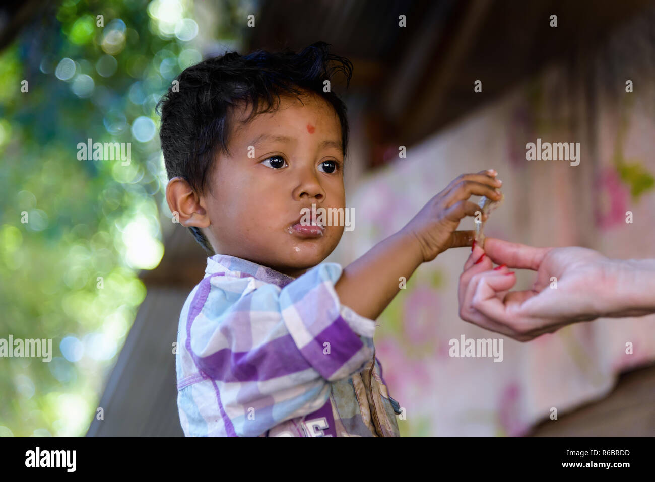 Portrait Boy People Cambodia Stock Photos & Portrait Boy