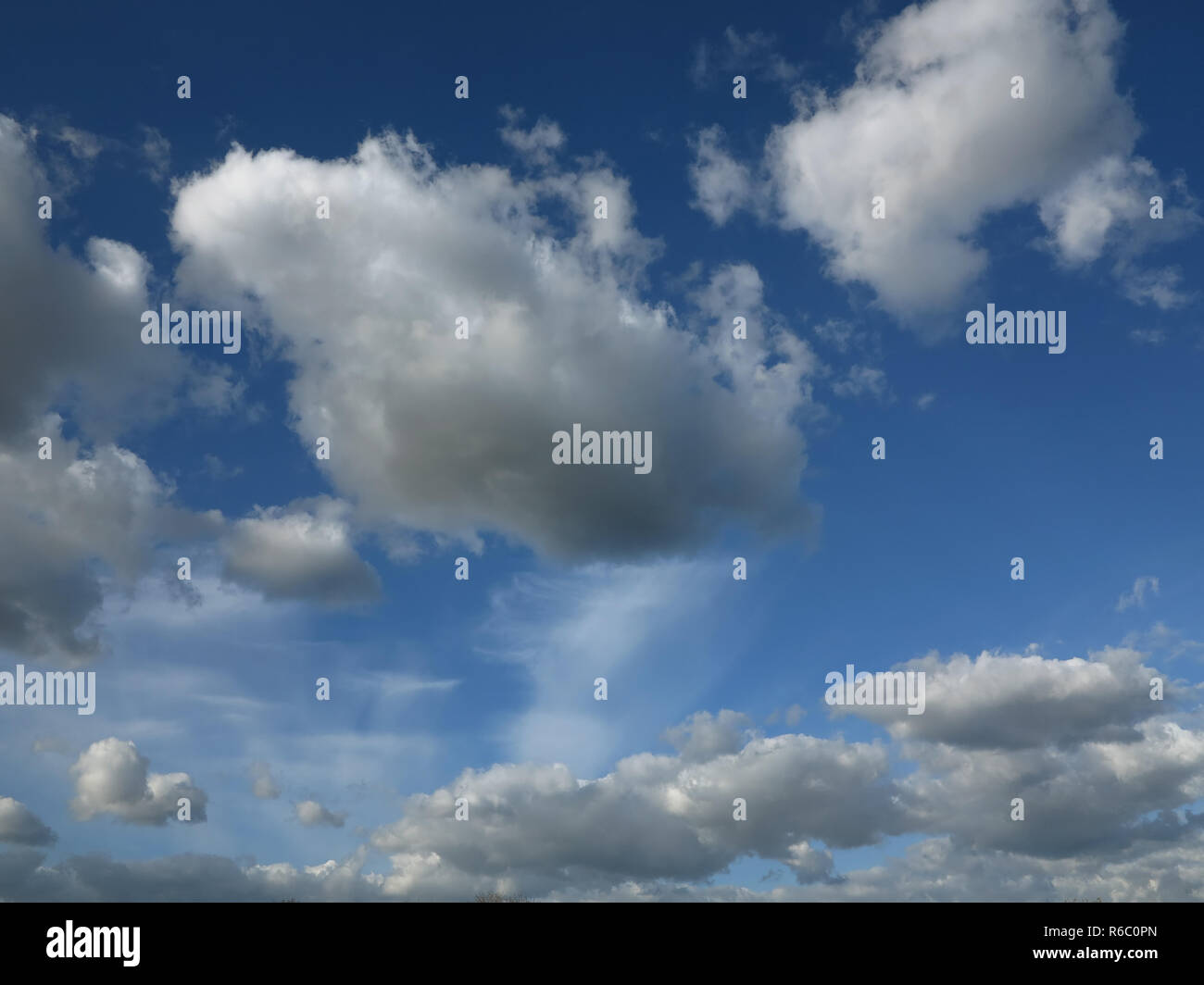 Cloud on the sky - Stock Image
