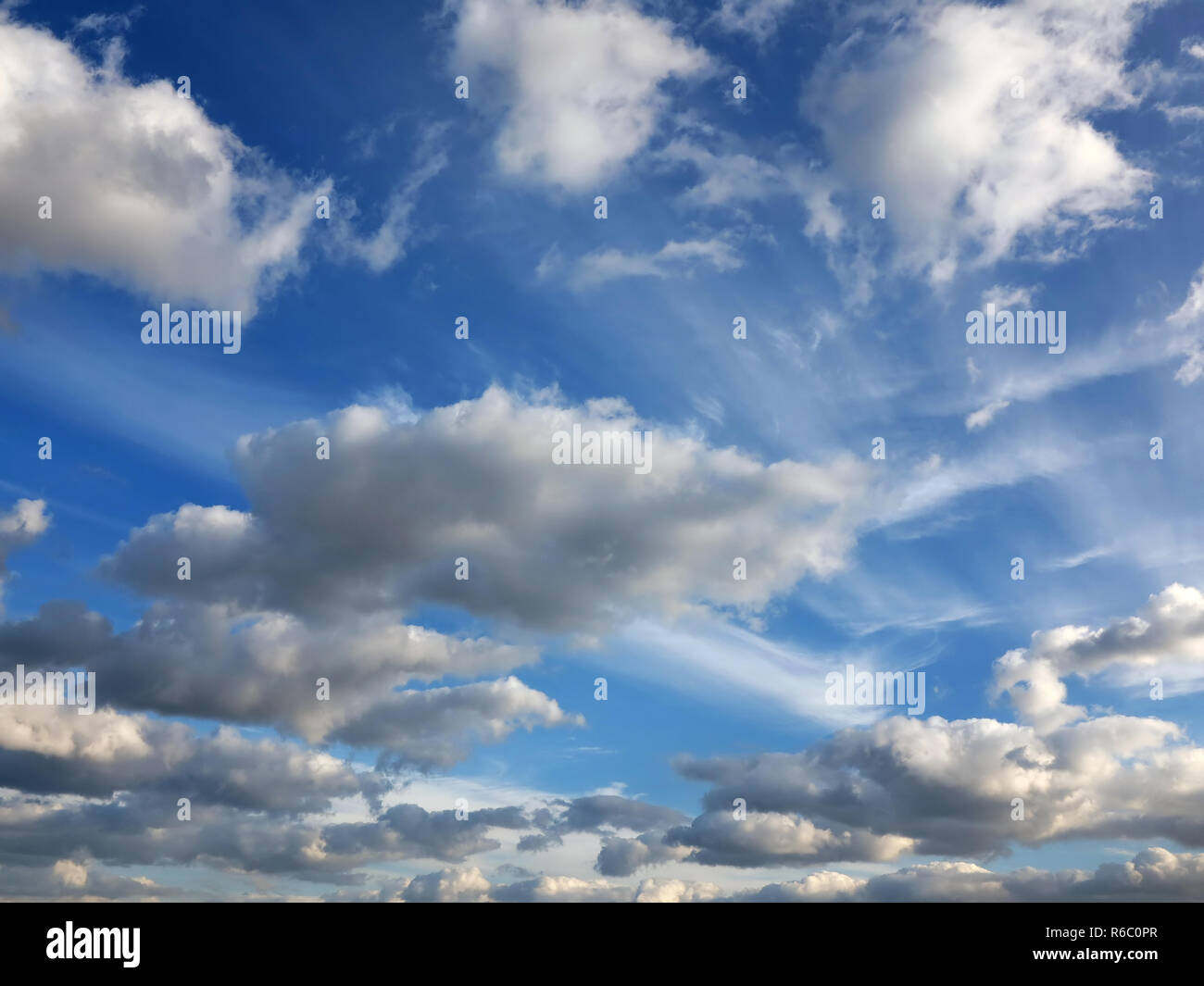 Clouds on the sky - Stock Image