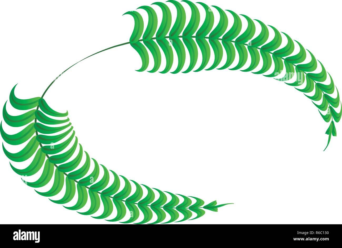 Empire laurel icon, isometric style - Stock Image