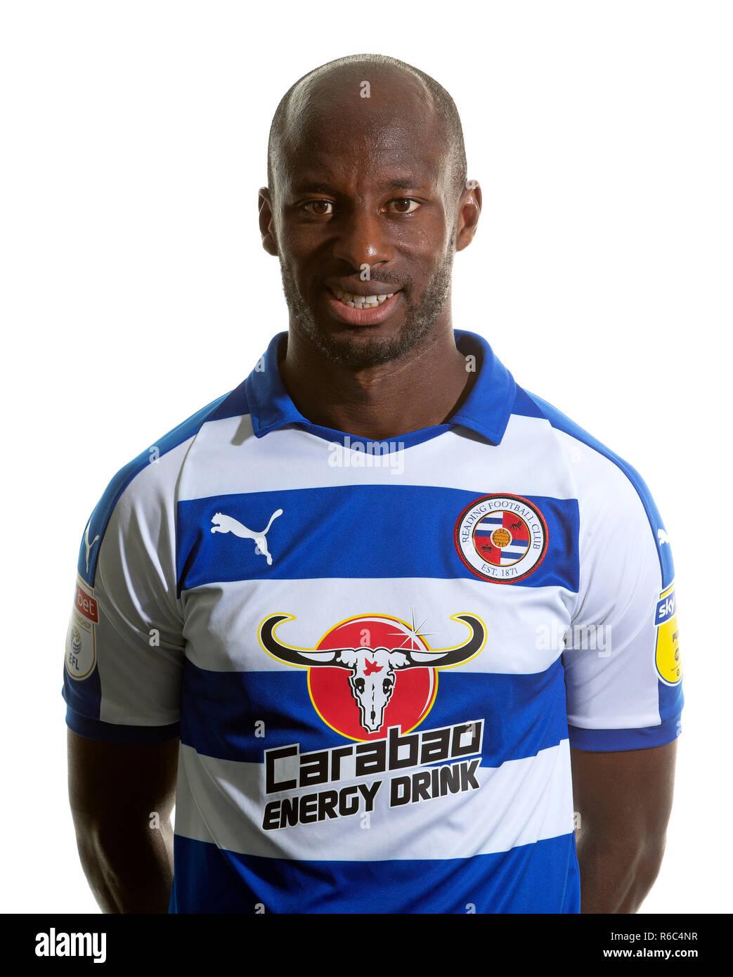 Sone Aluko of Reading Football Club Stock Photo