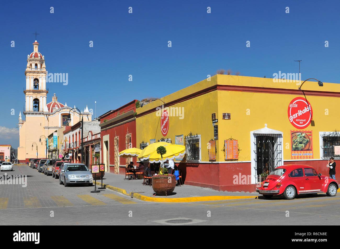 Mexico, Cholula City - Stock Image