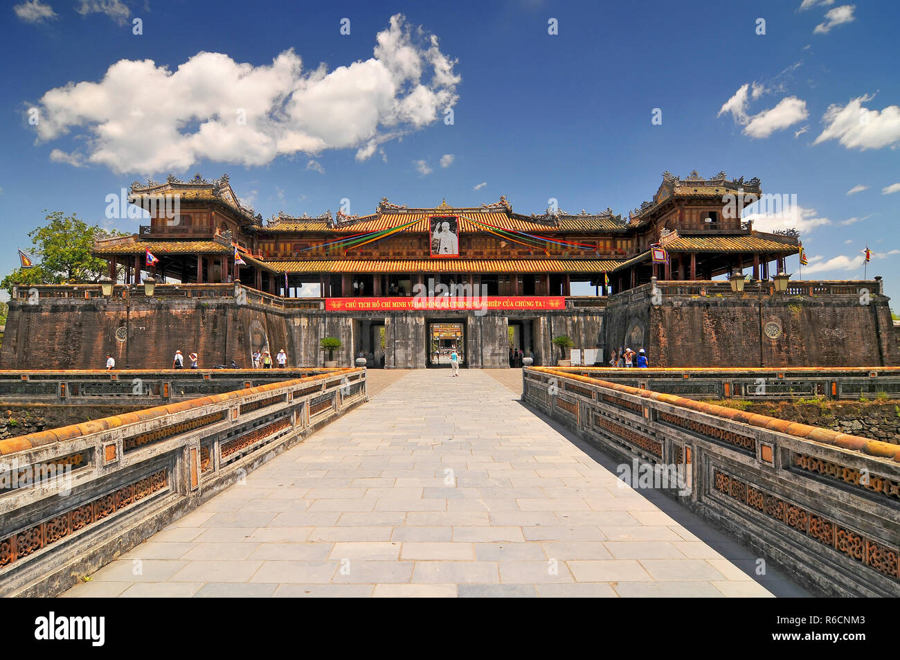 Vietnam Hue The Purple Forbidden City Imperial City Hue Vietnam Stock Photo Alamy