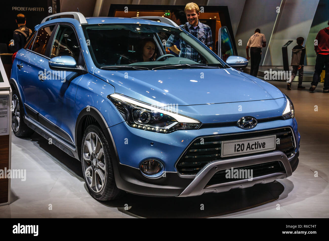 Frankfurt Sept 2015 Hyundai I20 Active Presented At Iaa International Motor Show On September 20 2015 In Frankfurt Germany Stock Photo Alamy