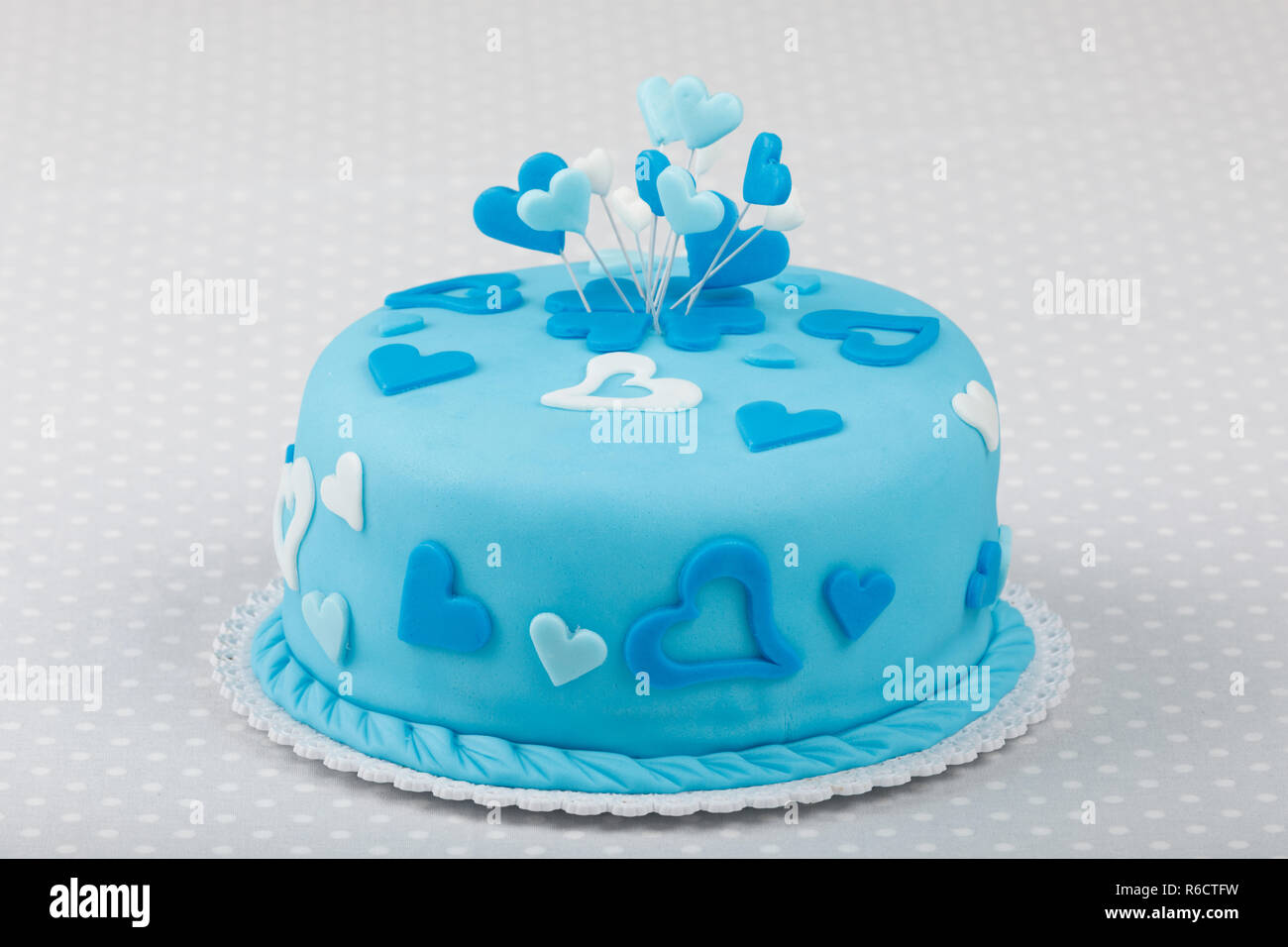 Stupendous Birthday Valentine Cake Stock Photo 227705405 Alamy Funny Birthday Cards Online Fluifree Goldxyz