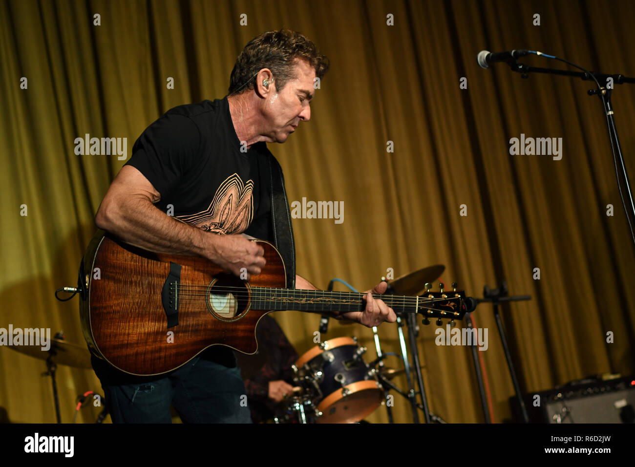 West Los Angeles, CA, USA. 4th Dec, 2018. 04 December 2018 - West Los Angeles, California - Dennis Quaid . Dennis Quaid and The Sharks Album Release Party and Performance held at The Village. Photo Credit: Birdie Thompson/AdMedia Credit: Birdie Thompson/AdMedia/ZUMA Wire/Alamy Live News Stock Photo