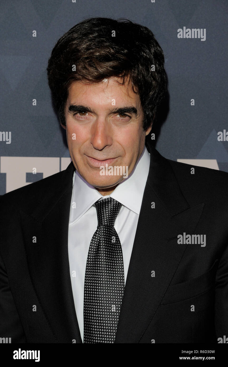 David Copperfield Red Carpet Event Stock Photos David Copperfield