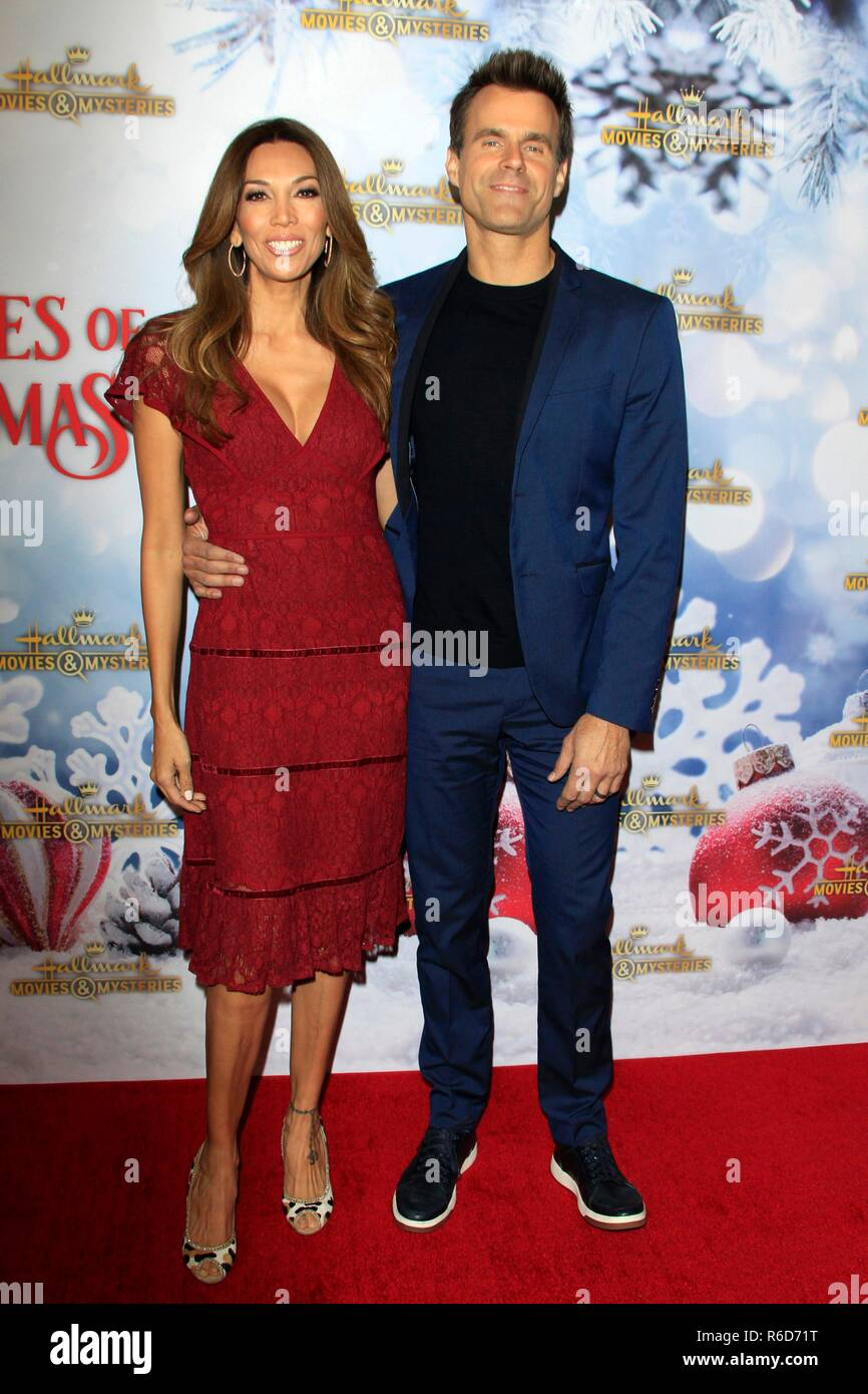 Los Angeles, CA, USA  4th Dec, 2018  Cameron Mathison, wife at