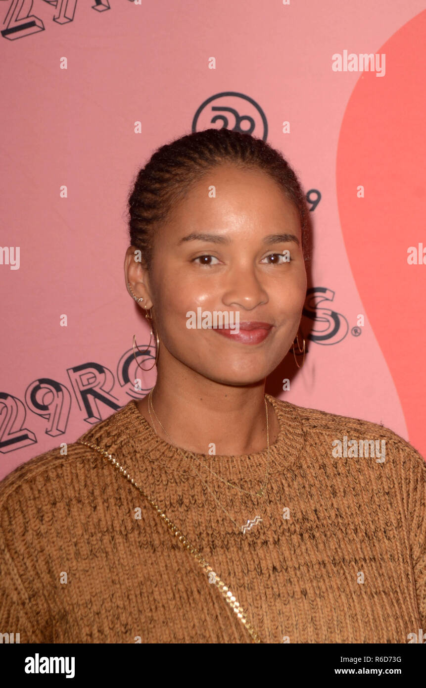 Joy Bryant usher video
