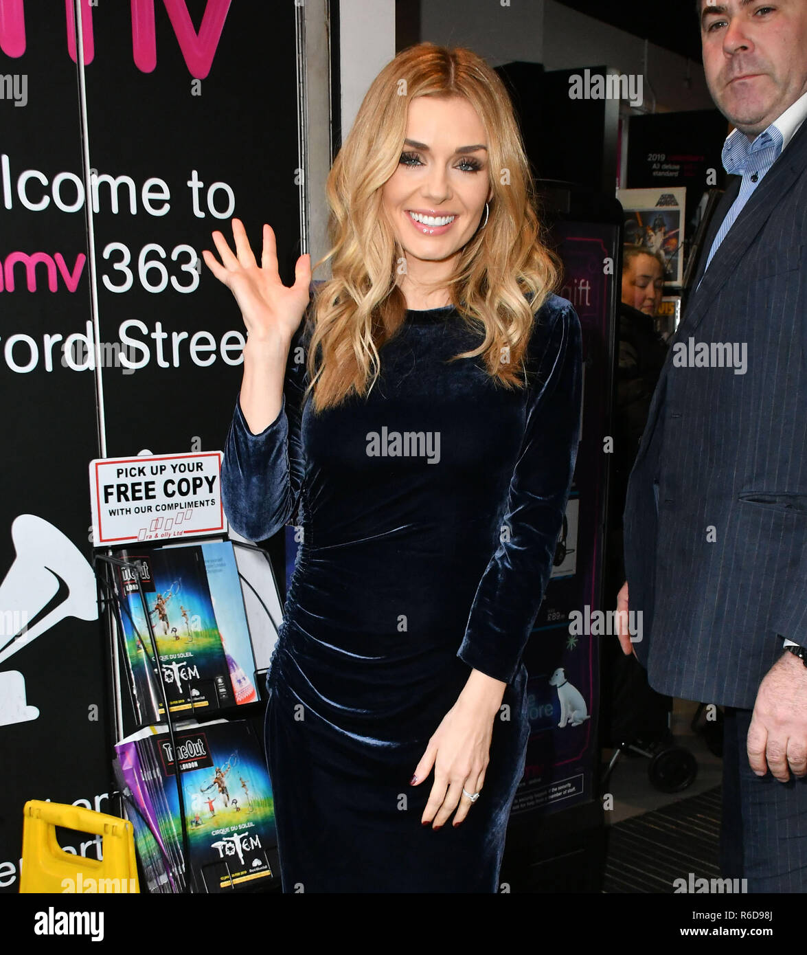 London, UK  5th December, 2018  Katherine Jenkins, Welsh lyric mezzo