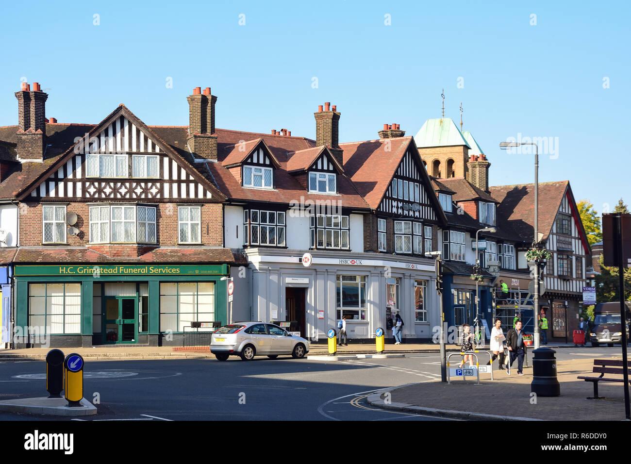 Love Lane, Pinner, London Borough of Harrow, Greater London, England, United Kingdom - Stock Image