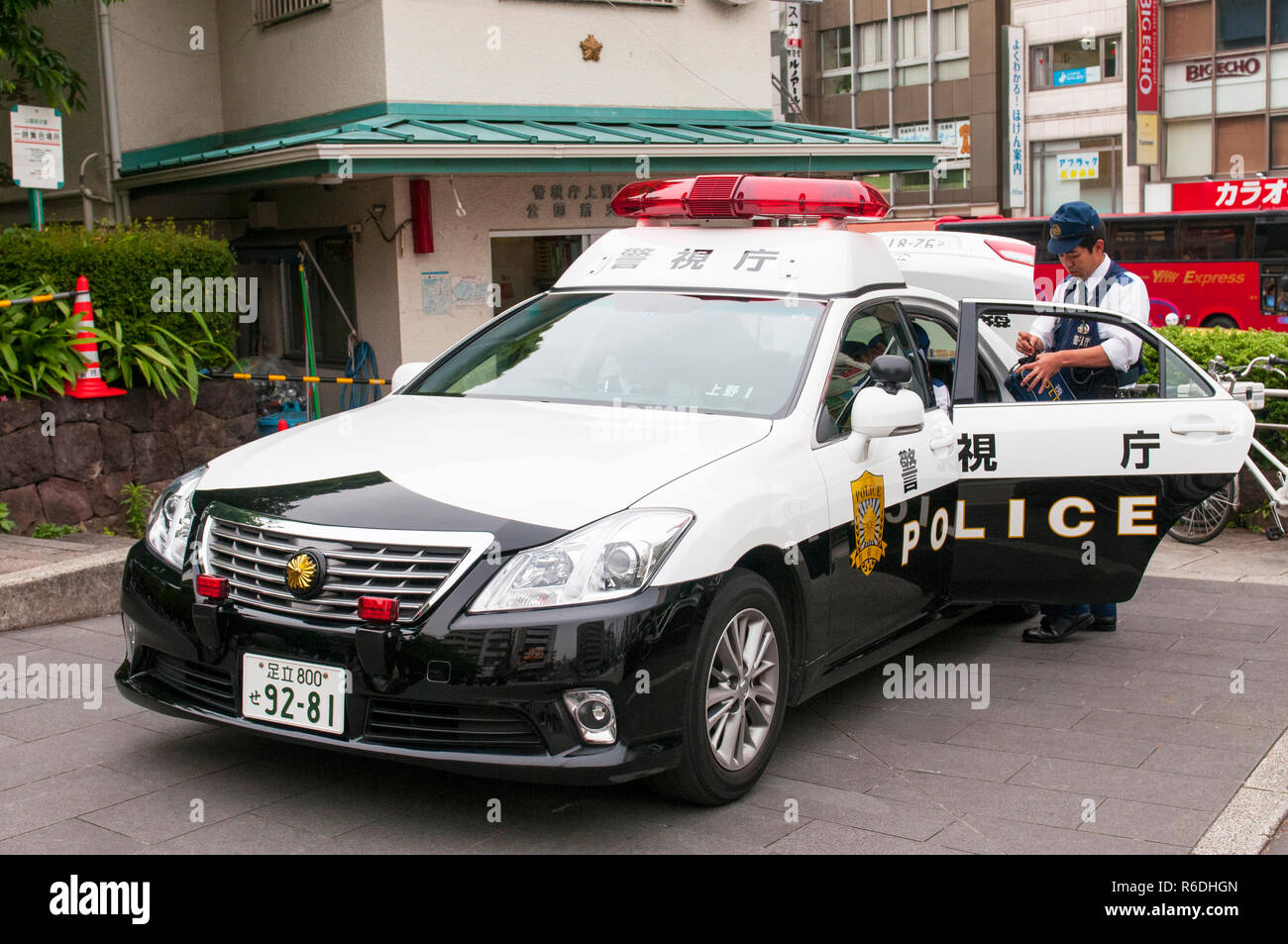 Japanese Police Car High Resolution Stock Photography And Images Alamy