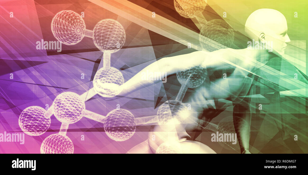 Hormone Therapy - Stock Image