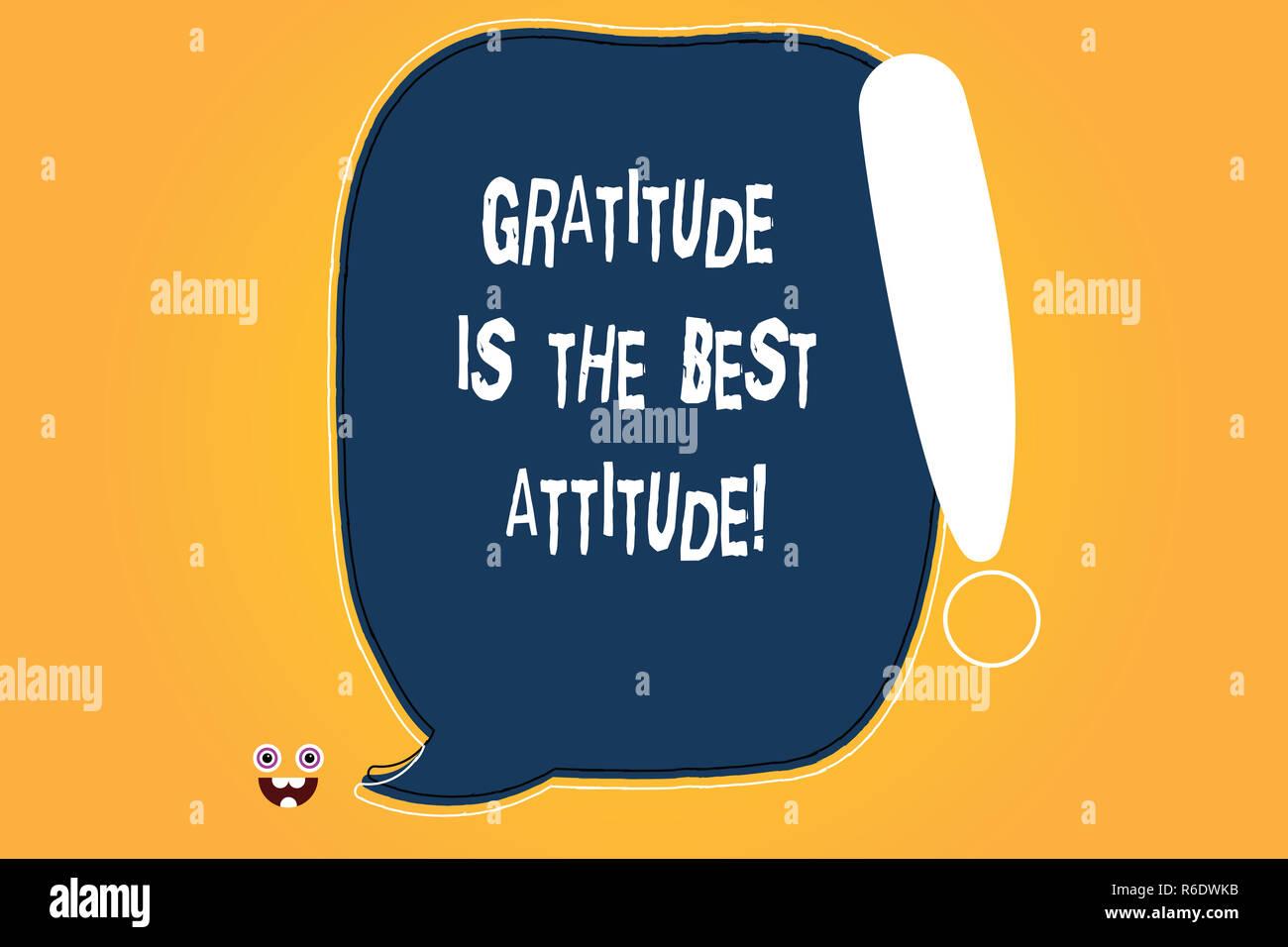 speech on attitude is everything