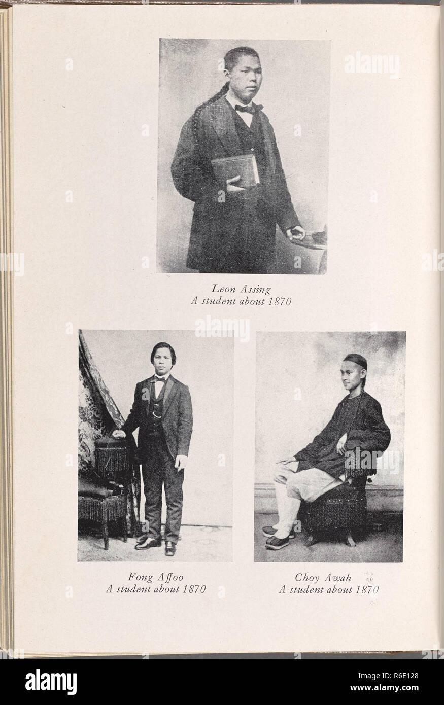 victorian era portrait photograph - Stock Image