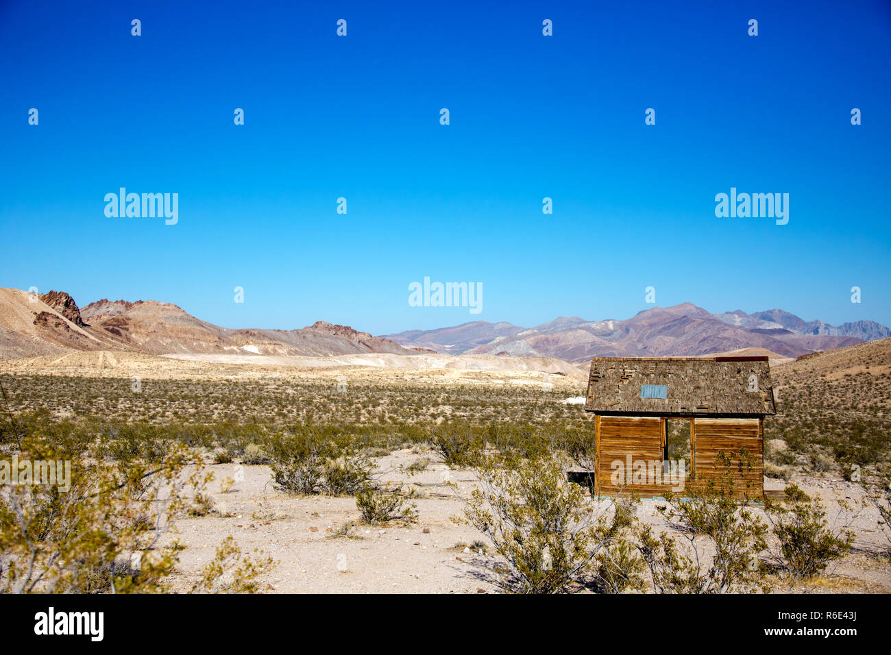 Rhyolite is a ghost town in Nye County, in the U S  state of Nevada