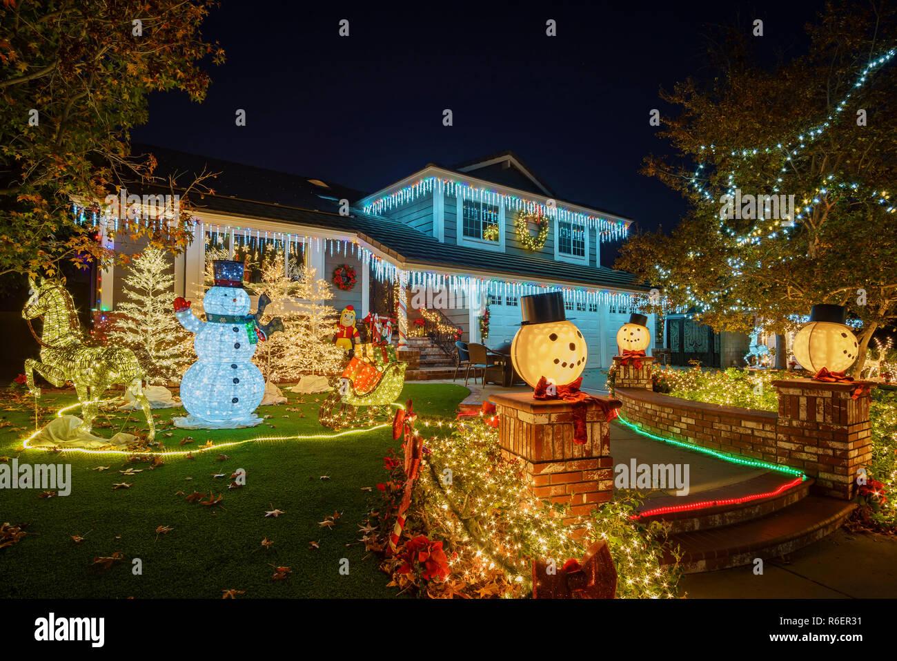 Brea Christmas Lights.Brea Dec 4 Beautiful Christmas Decoration On Dec 4 2018