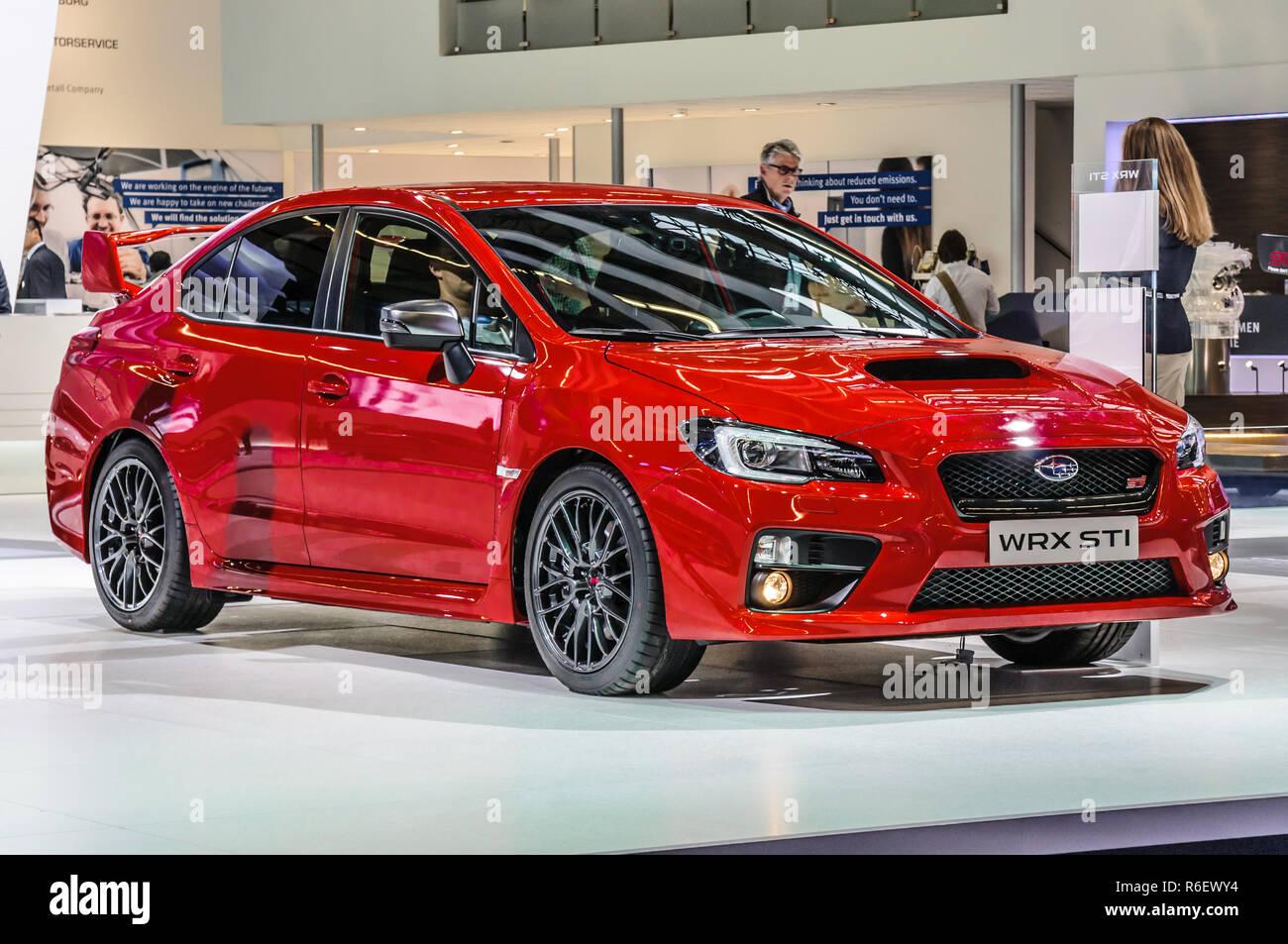Subaru Wrx Stock Photos & Subaru Wrx Stock Images - Alamy