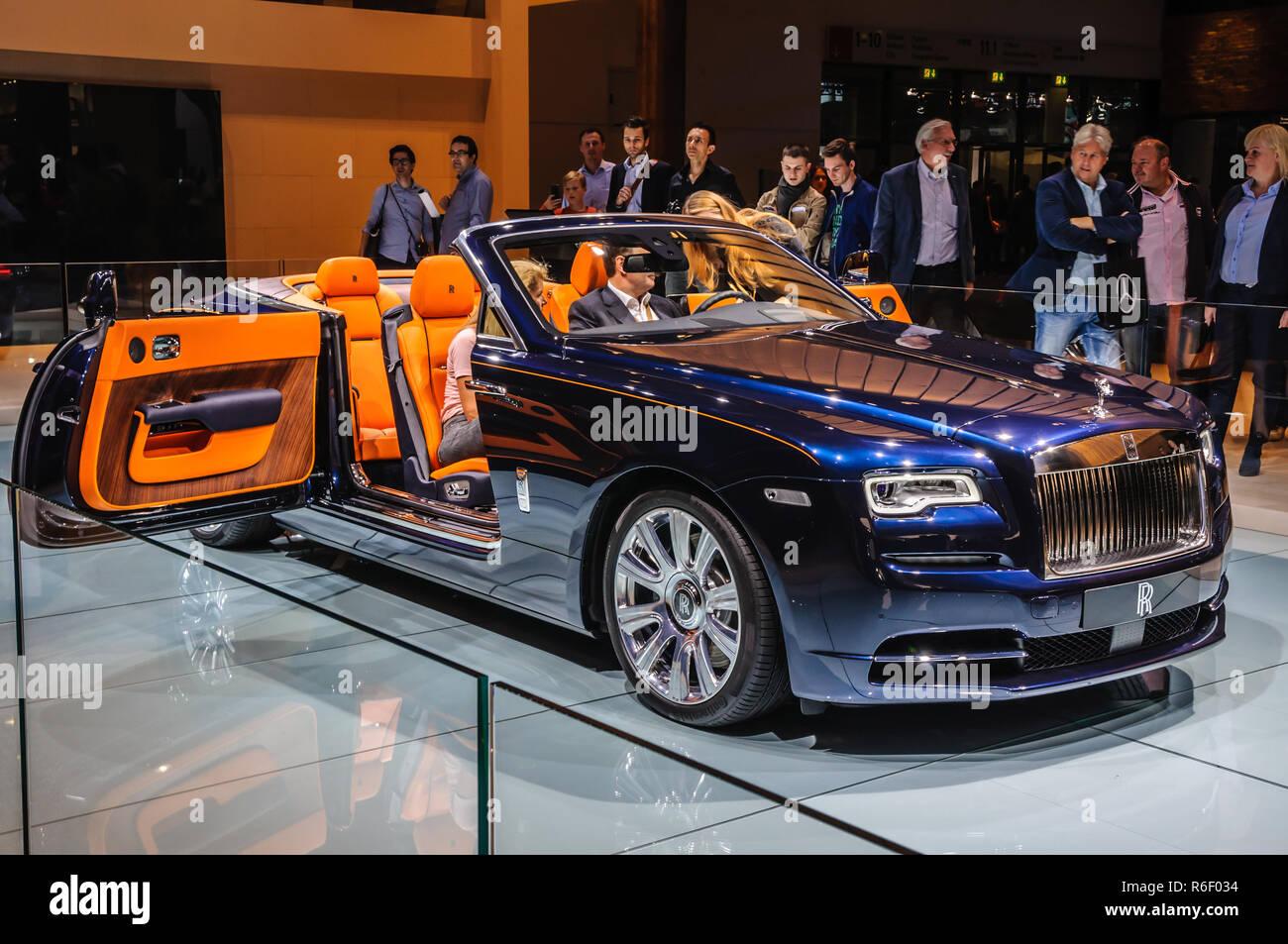 FRANKFURT - SEPT 2015: presented at IAA International Motor Show on September 20, 2015 in Frankfurt, Germany Stock Photo