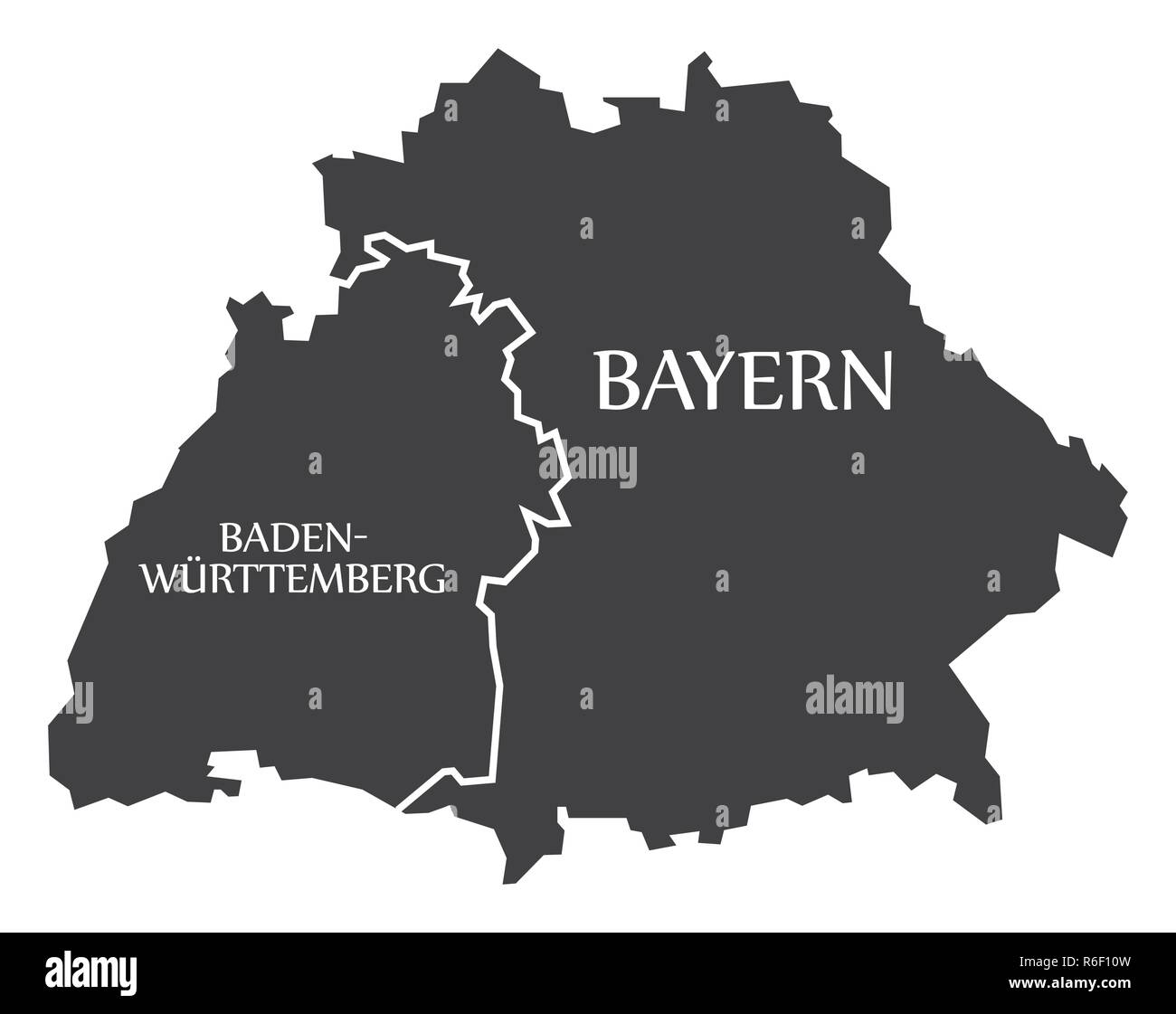 Baden Wuerttemberg Cut Out Stock Images Pictures Alamy